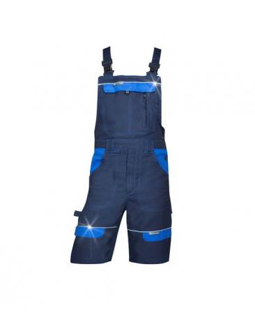 Pantaloni cu pieptar scurti de lucru Ardon COOL TREND, 100% bumbac, 260gr/mp0