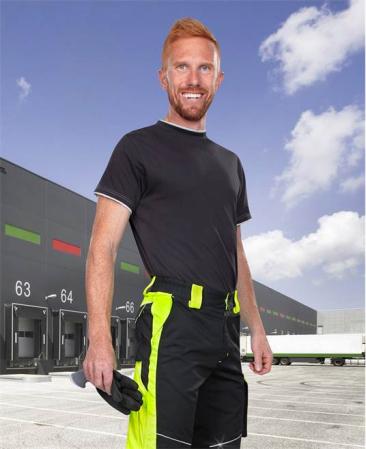 Pantaloni de lucru Ardon NEON, 65% poliester - 35% bumbac, 270gr/mp1