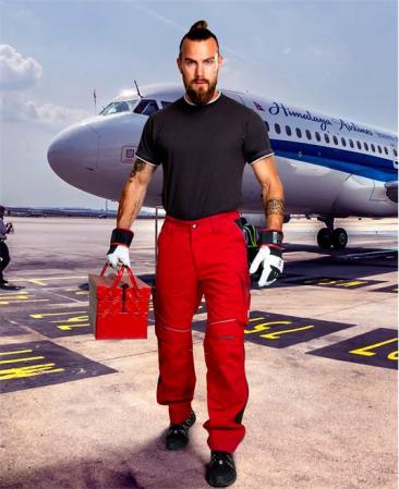 Pantaloni de lucru in talie Ardon URBAN+3