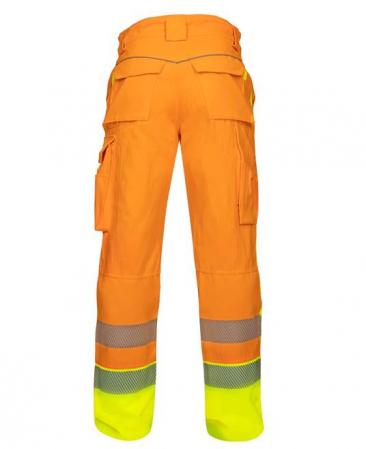 Pantaloni reflectorizanti Ardon SIGNAL, 65% poliester - 35% bumbac, 290gr/mp2