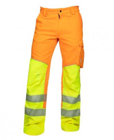 Pantaloni reflectorizanti Ardon SIGNAL, 65% poliester - 35% bumbac, 290gr/mp0