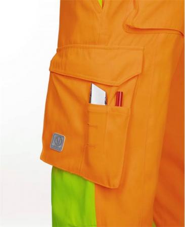 Pantaloni reflectorizanti Ardon SIGNAL, 65% poliester - 35% bumbac, 290gr/mp4