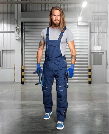 Pantaloni salopeta cu pieptar Ardon URBAN+4