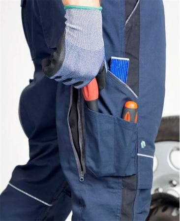 Pantaloni salopeta cu pieptar Ardon URBAN+3