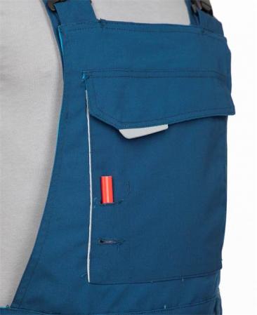 Pantaloni salopeta cu pieptar Ardon URBAN, 65% poliester - 35% bumbac, 270gr/mp8