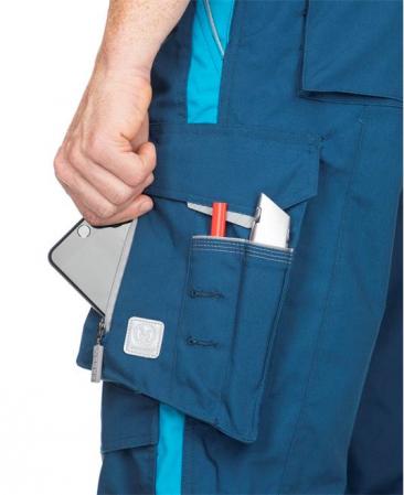 Pantaloni salopeta cu pieptar Ardon URBAN, 65% poliester - 35% bumbac, 270gr/mp6