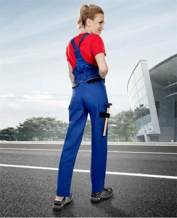 Pantaloni salopeta cu pieptar dama Ardon COOL TREND, 100%bumbac, 260gr/mp3