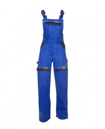 Pantaloni salopeta cu pieptar dama Ardon COOL TREND, 100%bumbac, 260gr/mp0