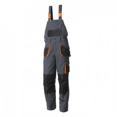 Pantaloni salopeta cu pieptar detasabil Renania RICHARD, tercot 65/35, 280gr/mp [0]