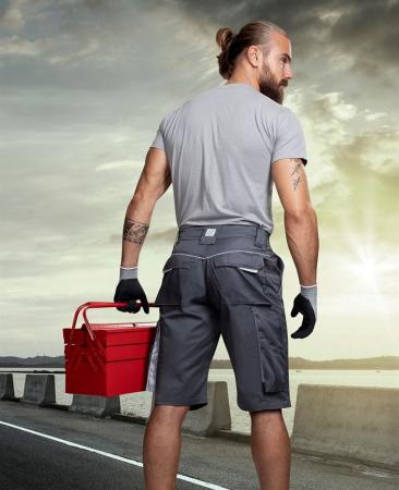 Pantaloni scurti de lucru Ardon SUMMER, tercot 65/35, 200gr/mp4