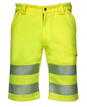 Pantaloni scurti reflectorizanti Ardon SIGNAL, 65% poliester - 35% bumbac, 290gr/mp0