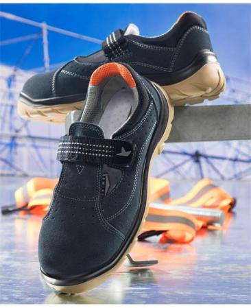 Sandale de protectie Ardon PRIME SANTREK S1, cu bombeu metalic4
