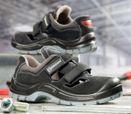 Sandale de protectie Ardon GEARSAN S1, cu bombeu metalic1