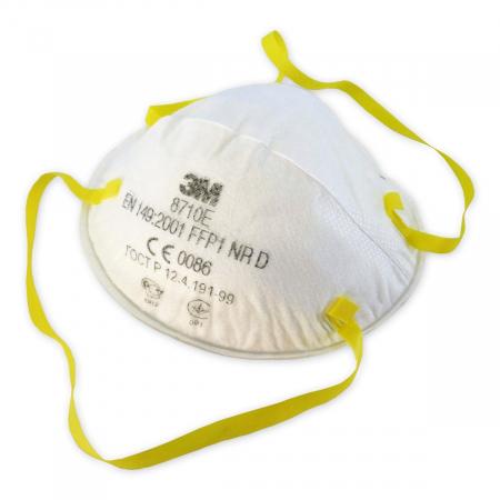 Semimasca de protectie fara supapa FFP1 3M 8710, tip cupa2