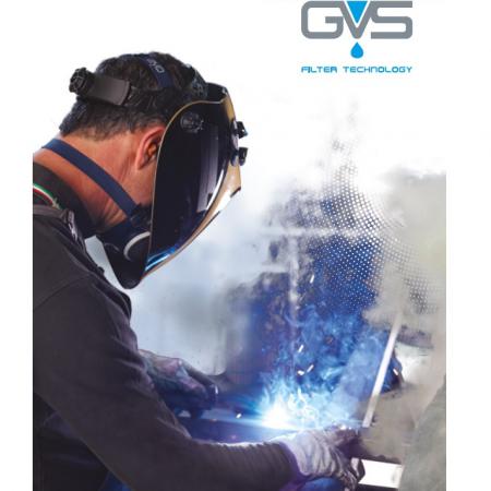 Semimasca de protectie Gvs ELIPSE cu filtre P3 RD incluse, schimbabile [4]