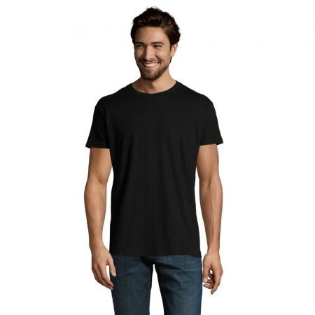 Tricou clasic Sols IMPERIAL, 100% bumbac, 190gr/mp1