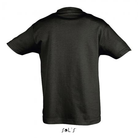 Tricou clasic copii Sols REGENT, 100% bumbac, 150 gr/mp2