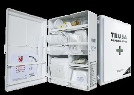 Trusa sanitara de prim ajutor fixa | prindere perete1