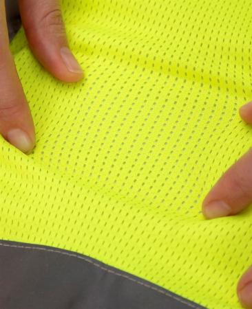 Vesta reflectorizanta Ardon SIGNAL, 100% poliester mesh, 150 gr/mp [2]