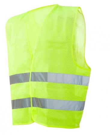 Vesta reflectorizanta tip plasa mesh Ardon BOLT, 100% poliester mesh, 125gr/mp0