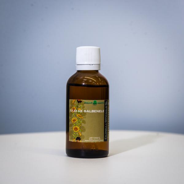 Ulei vegetal de galbenele 100 ml  Calendula officinalis 0