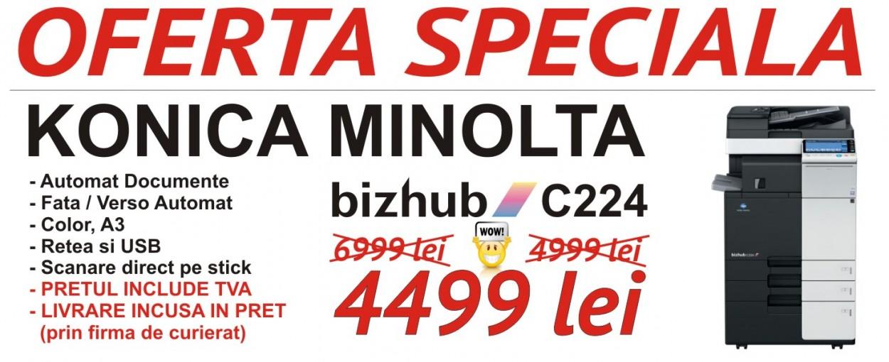 konica minolta bizhub c224