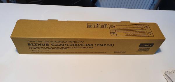 Toner Konica Minolta TN216K, TN319K, A11G150, A11G151, bizhub C220, bizhub C280, Black [0]