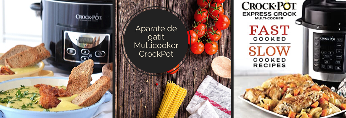 Aparate de gatit Multicooker Crock Pot
