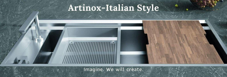 Artinox chiuvete Made in Italy