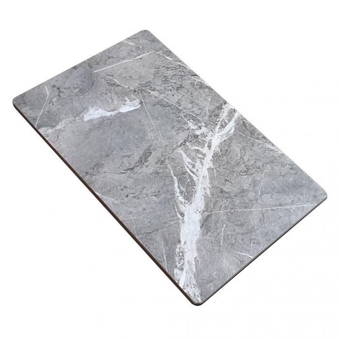 Chiuveta bucatarie granit CookingAid Cube ON5610 Trufa Maro / Truffle + accesorii montaj 11
