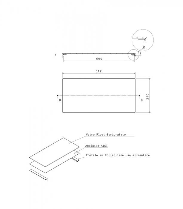 Apell- Tocator din sticla neagra securizata pentru chiuvetele Apell [1]