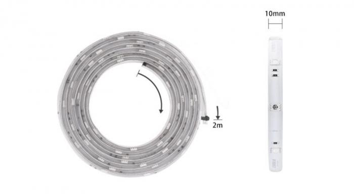 Banda LED Smart 2m, WiFi, 5050 RGB Livolo 2