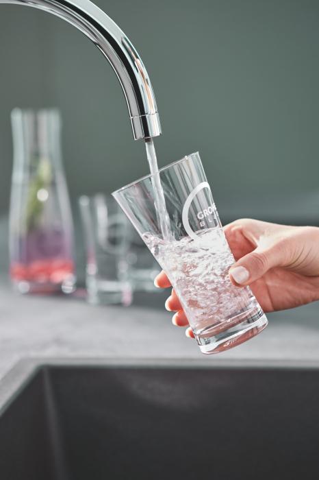 Robinet bucatarie GROHE Pure Mono pentru apa filtrată - crom 1