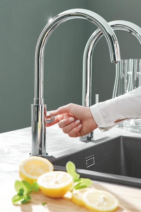 Robinet bucatarie GROHE Pure Mono pentru apa filtrată - crom 2