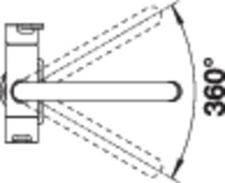 Baterie chiuveta BLANCO TRIMA Filter din inox, cu circuit pentru apa filtrata [5]