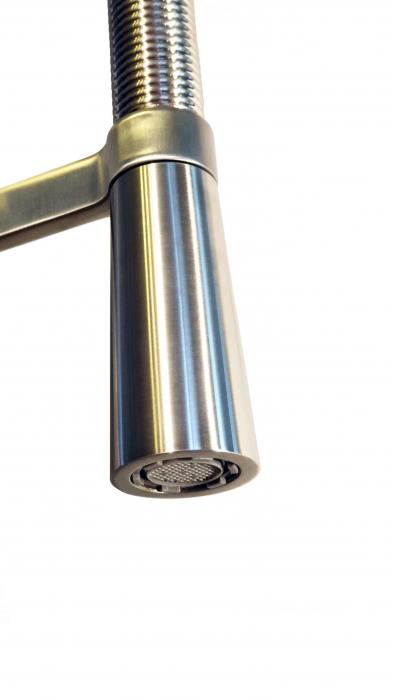 Baterie CookingAid MONTANA cu teava spiralata inox flexibil si cap extractibil / detasabil 3