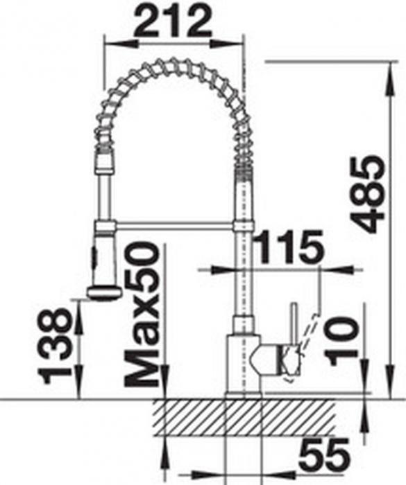 Baterie de bucatarie Blanco MASTER-S gama profesionala [3]