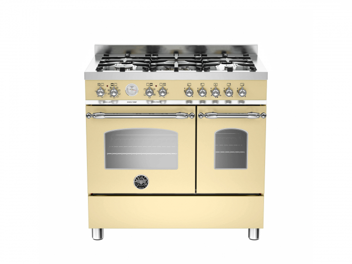 BBertazzoni Aragaz 90x60 cm cuptor dublu 5 arzatoare design Heritage [0]