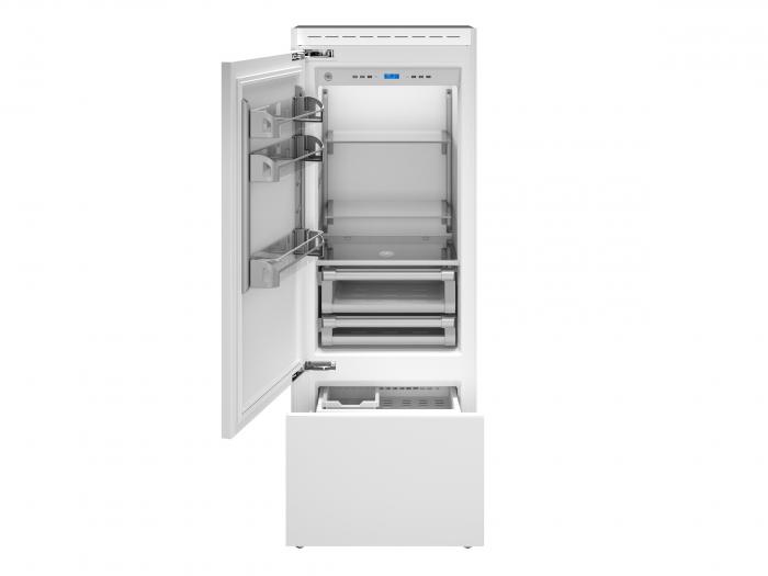 Bertazzoni Combina frigorifica incorporabila 75 cm design Neutral, deschidere stanga [0]