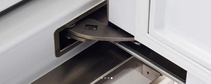 Bertazzoni Combina frigorifica incorporabila 90 cm Inox design Neutral, deschidere dreapta [4]