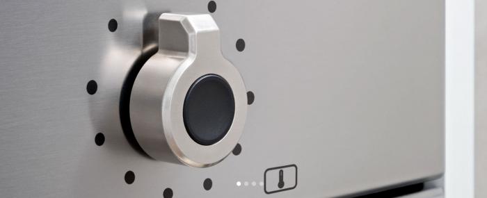 Bertazzoni Cuptor electric 60x60 cm Multi 5 functii 3 butoane Inox design Professional [3]