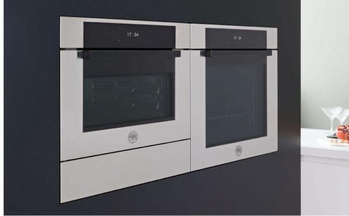 Bertazzoni Cuptor electric cu 9 functii LED 60x60 cm Inox design Modern [4]