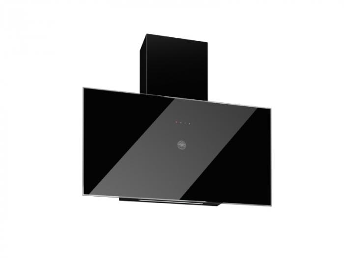 Bertazzoni Hota perete 90 cm Sticla neagra design Professional [0]