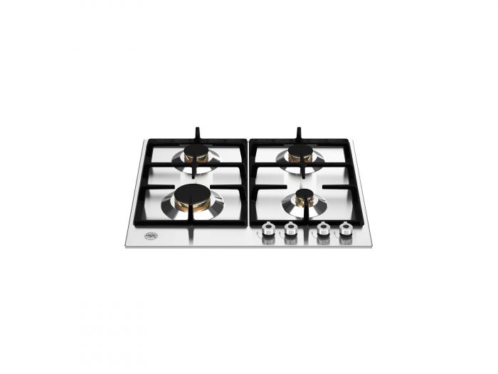 Bertazzoni Plita gaz 60 cm, 4 arzatoare Inox design Professional [0]