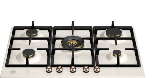 Bertazzoni Plita gaz 75 cm Ivory & Cupru design Heritage [0]