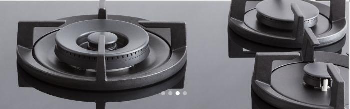 Bertazzoni Plita gaz 90 cm Sticla neagra design Modern [3]