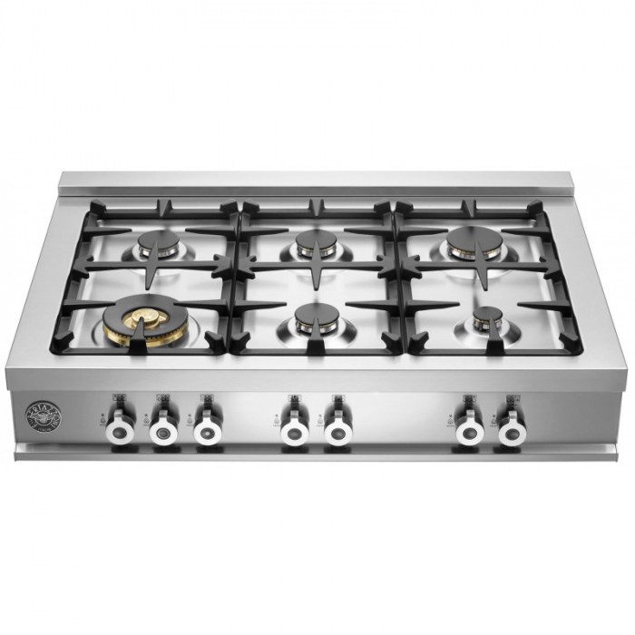 Bertazzoni Plita gaz 92x64 cm Range Top 6 arzatoare Inox design Professional [0]