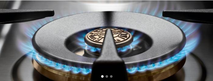 Bertazzoni Plita gaz 92x64 cm Range Top 6 arzatoare Inox design Professional [3]