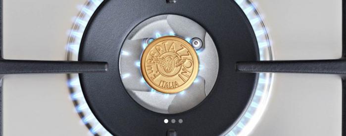 Bertazzoni Plita incorporabila cu 5 arzatoare gaz 90 cm Inox design Modern [2]