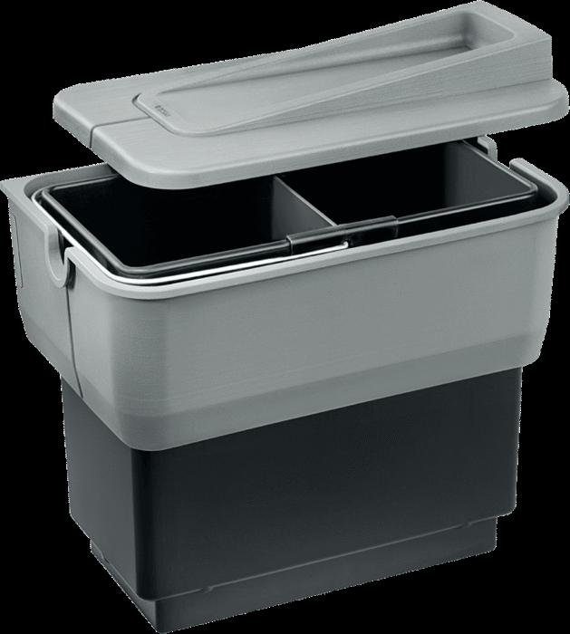 BLANCO SELECT SINGOLO-S cu separator pentru galeata de gunoi 0